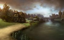 Medieval Village von Emanuel Sandu