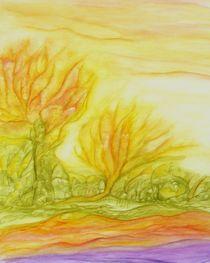 Feuergeister im September von Irmgard Strobel