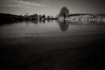 Ruhr / Flusslandschaft von Dominic von Stösser