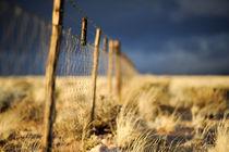 Fence / Stormclouds von Dominic von Stösser