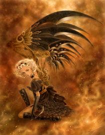 Steampunk Fallen Angel von Mitzi Sato-Wiuff