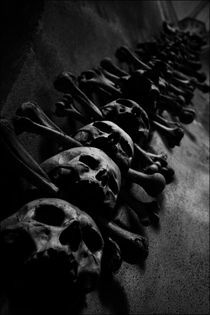 Place of Skulls. by Artiom Pituscan