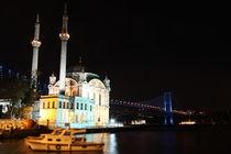 Ortakoy Mosque and Bosphorus Bridge von Evren Kalinbacak