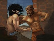 Gilgamesh-vs-enkidu