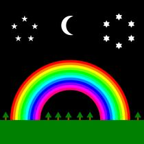 midnight rainbow by Chandler Klebs