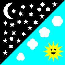 night and day skies von Chandler Klebs