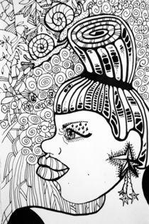 A black women von Svetlana Gushchina