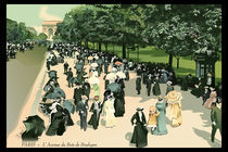 Back To Paris 1900 by Dhella Rouat
