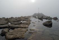 Foggy seaside by Jose Corraliza