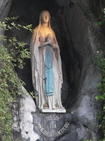 Our Lady of Lourdes by Alaister Lim