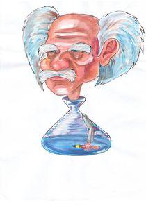 Einstein by Dorina Boneva