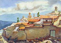 WS1955BO001 Landscape of Potosi 13.75X9.75 by alfredo Da Silva