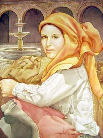 WS1995DC005 Rosana 14.75x19.5 by alfredo Da Silva