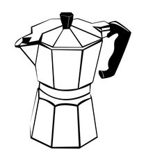 Coffee pot von William Rossin