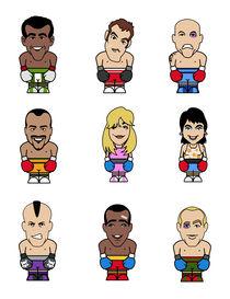 Boxe puppets von William Rossin