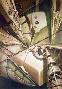 WS1977NY002 El triunfo del planeta 19.5x26 von alfredo Da Silva