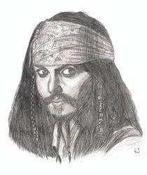 Captain Jack Sparrow by Ina Wallschlag