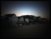 Beach Huts 2 von Miroslav Lucan