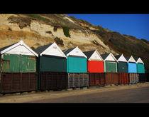 Beach Huts 1 von Miroslav Lucan
