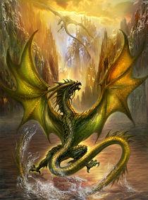 Dragon of Lake II. by Jan Patrik Krasny