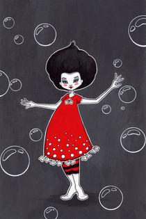 Red dress by Ilona Sula