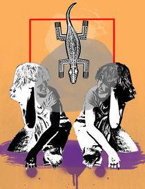 lizard twins by Jonathan Benitez