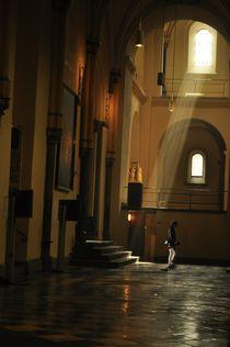 Walking Out of the Light by travisfeldmanphotography