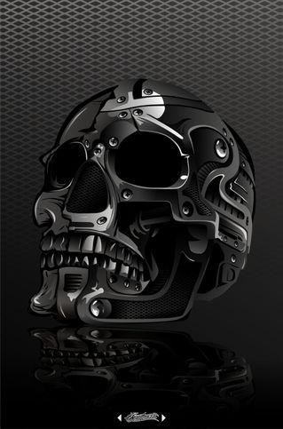 Metal-skull