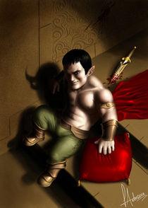 Evil Halfling von Luciano de Souza Antoniasse