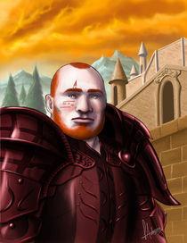 Loken - Dwarf Warrior von Luciano de Souza Antoniasse