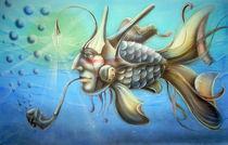 Underwater wiseman by Alexander Chebotaryov