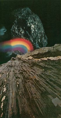 rainbow at the center of the earth by Jesse  Treece