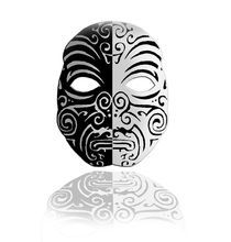 African Mask von Alpin Jongari
