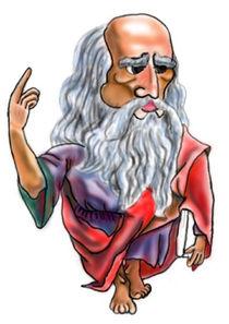 Plato's caricature by Dorina Boneva