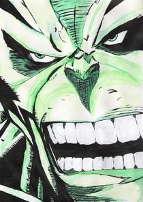 The Incredible Hulk by Andre Bacchi