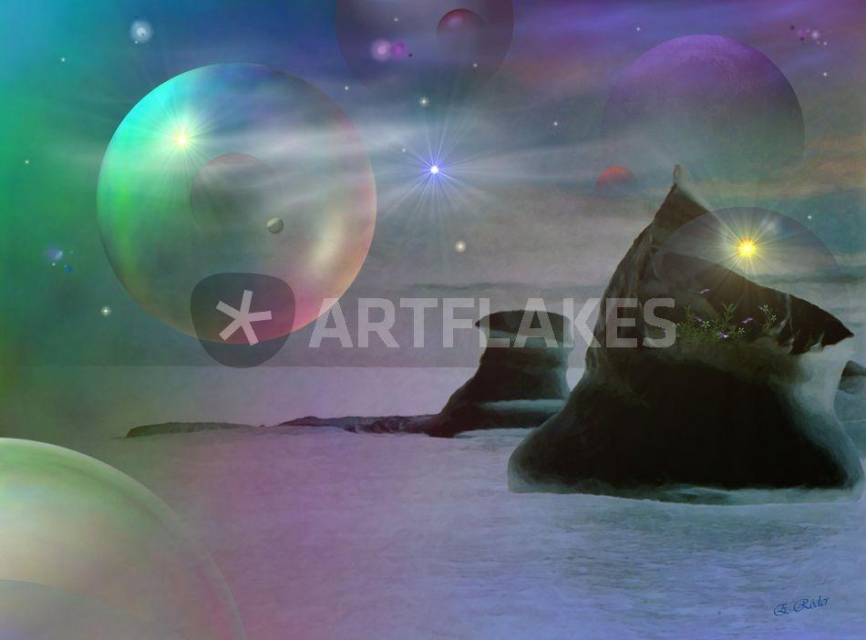 """""""Unter fremden Sternen"""" Digital Art als Poster und ..."""