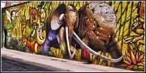 Graffiti in Dumbo by Maks Erlikh