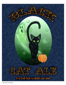 Black-cat-ale-print