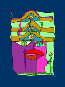 Mein Hut, der hat drei Ecken by SUSANNE eva maria  FISCHBACH