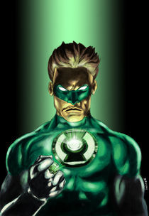 The Green Lantern by Andre Bacchi