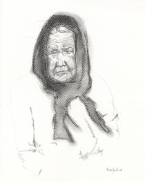 old woman by ana-jacob