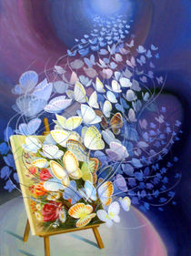 art lovers butterflys von Nilgün Gedik
