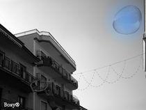 Blue Bubble in the Sky by Roberta Denicolo