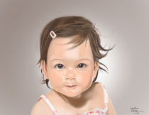 Cute Asian Baby by Ryan Adriano