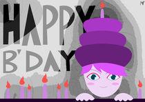 cake girl happy birthday by Nimas Arum