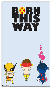 Born this way. by Gabriel Contreras