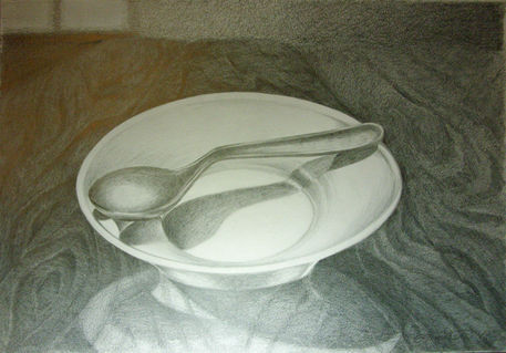 Dish-and-spoon