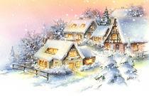 Winter-Romantik by E. Axel  Wolf