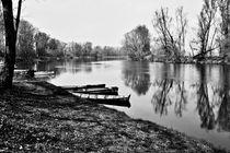 Adda river, Italy von Alessandro Guzzeloni