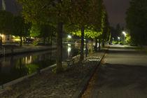 Auricher Hafen bei Nacht by michas-pix